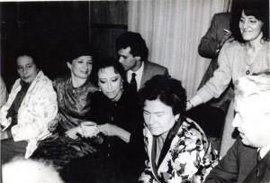 М. Плисецкая в кабинете у Г. Яновской
